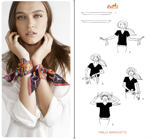 How To Tell If A Ferragamo Belt Is Real >> 30 Stunning Ways to Wear a Hermes Scarf with Instructions