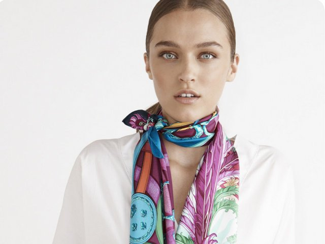 How to Tie Hermès Scarf | 30 Most Gorgeous Ways & Techniques