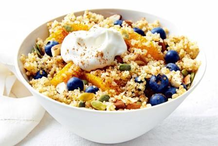 Quinoa High Carb Low Fat Foods