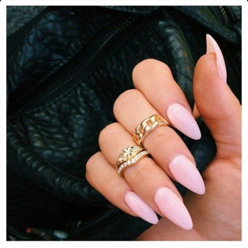 Long Almond Shaped Nails
