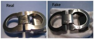 Real Vs Fake Ferragamo Belt Buckle