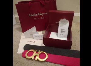 Spot Fake Ferragamo Belt Box Packaging