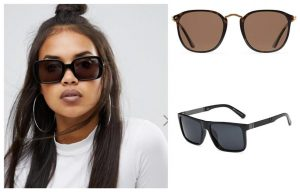 Sunglass Shape for Round face