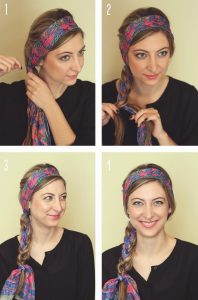 How to Tie a Scarf on Your Head