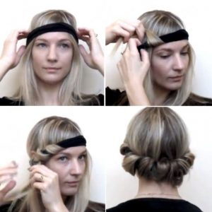 Scarf Headband How to