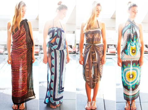 How to Tie a Sarong in Different Ways for a Chic Look