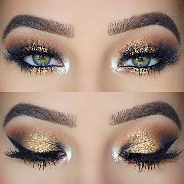 10 Best Eyeshadow Colors for Green Eyes Makeup   Soul Health Life