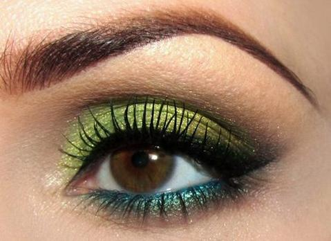 Eyeshadow for Dark Brown Eyes
