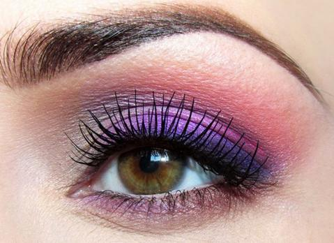 Purple Eyeshadow for Brown Eyes