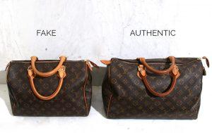 How to Recognize a Fake LV Bag